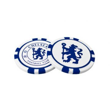 Chelsea FC Poker Chip Golf Ball Markers